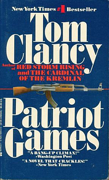 Tom Clancy's Patriot Games Book Review