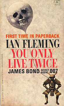 Ian Flemming's You Only Live Twice Book Review