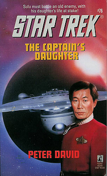 Star Trek TOS Novels: The Captain's Daughter Book Review