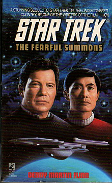 Star Trek TOS Novels: The Fearful Summons Book Review
